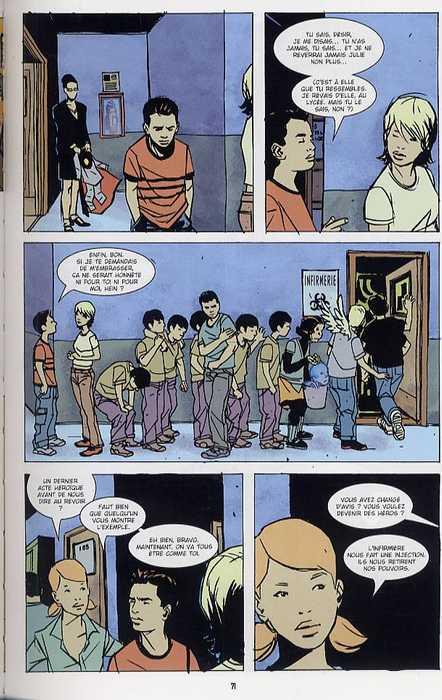 Grounded, comics chez Bamboo de Sable, Azaceta, Filardi