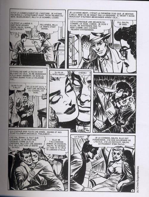 Crime SuspenStories T2, comics chez Akileos de Craig, Gaines, Feldstein, Davis, Peters, Williamson, Ingels, Roussos, Check, Kamen