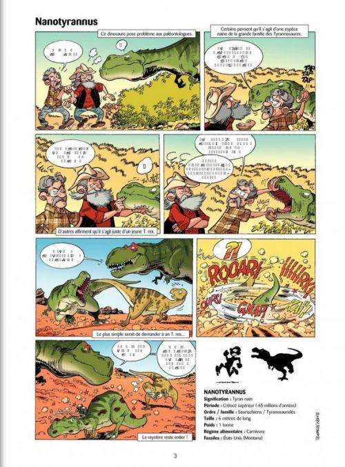 Les dinosaures T4, bd chez Bamboo de Plumeri, Bloz, Cosson