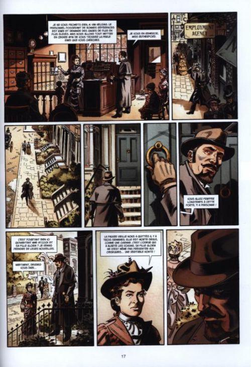 Van Helsing contre Jack l'éventreur T2 : La belle de Crécy (0), bd chez Soleil de Lamontagne, Reinhold, Thomas, Parel