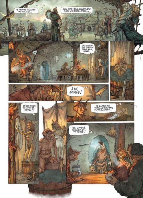Fables de l'Humpur T2 : Muryd (0), bd chez Soleil de Bordage, Roman, Richard