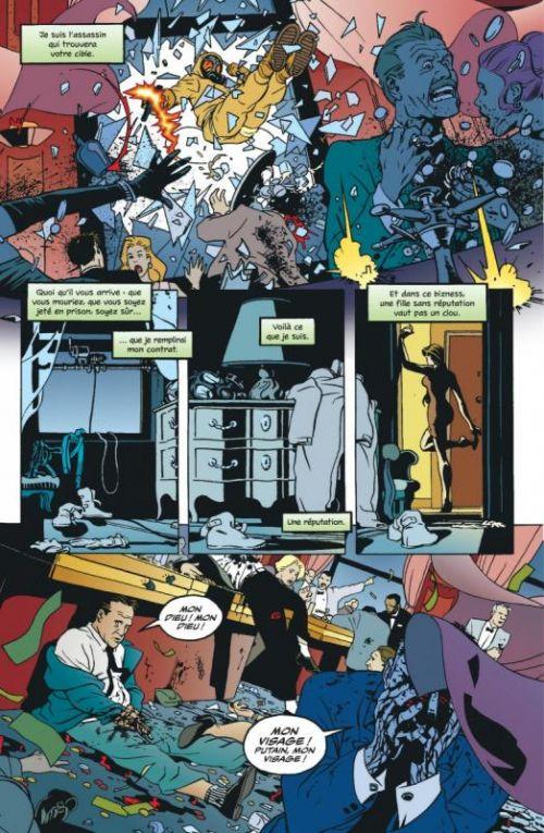 Human Target T1, comics chez Urban Comics de Wein, Milligan, Infantino, Pulido, Biukovic, Rodriguez, Stewart, Loughridge