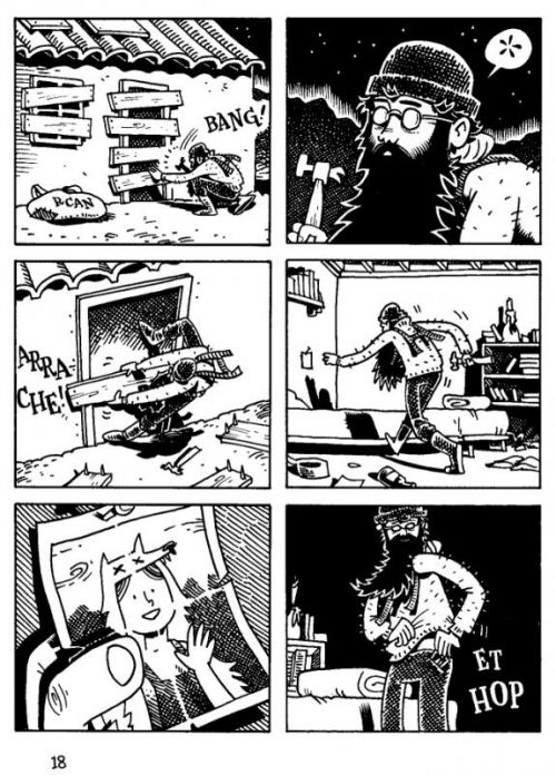 Cratère XV, comics chez Çà et là de Cannon