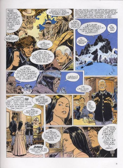 Blueberry – cycle 7 : Blueberry fugitif, T19 : La longue marche (0), bd chez Hachette de Charlier, Rouge, Giraud