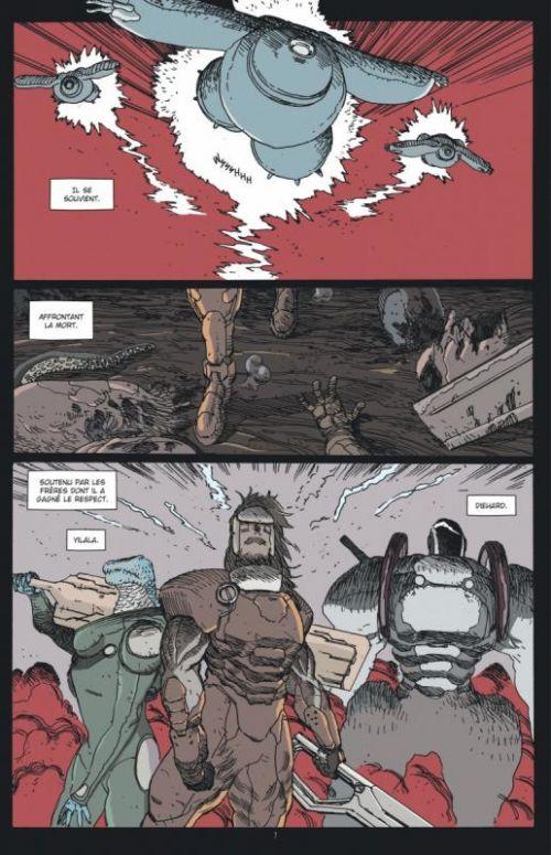 John Prophet T2 : Frères (0), comics chez Urban Comics de Milonogiannis, Graham, Roy, Dalrymple, Bergin III