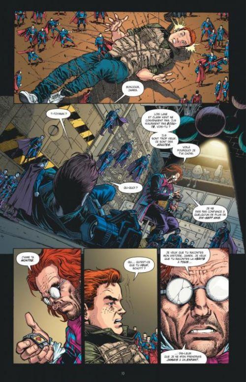 Geoff Johns présente – Superman, T5 : Brainiac (0), comics chez Urban Comics de Johns, Merino, Frank, Anderson, Hi-fi colour