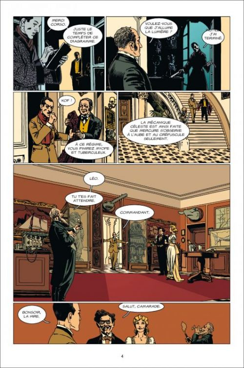 L'oeil de la nuit T1 : Ami du mystère (0), bd chez Delcourt de Serge Lehman, Gess, Delf, Carré
