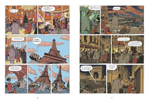 Magic Majid : La sardine du cannibale (0), bd chez Sarbacane de Bâ, Fouillet