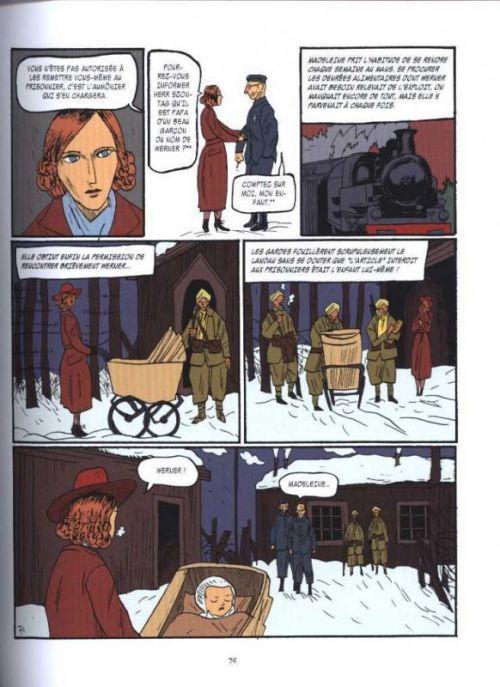 Madeleine : une femme libre (0), bd chez Sarbacane de Colin thibert, Ortiz, Mosdal