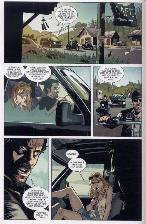 Sons of anarchy T1, comics chez Ankama de Golden, Couceiro, Downer, Brown
