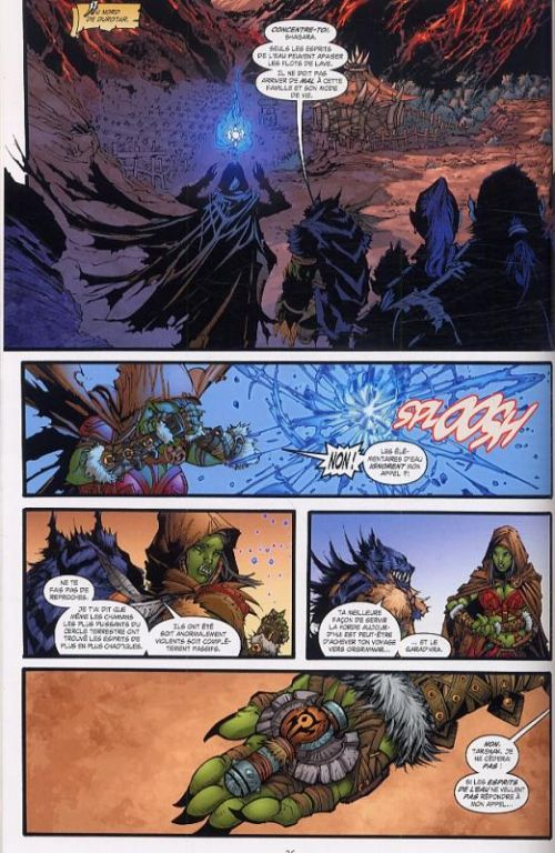 World of Warcraft - Bloodsworn T1, comics chez Delcourt de Wagner, Raapack, Cox, McCaig