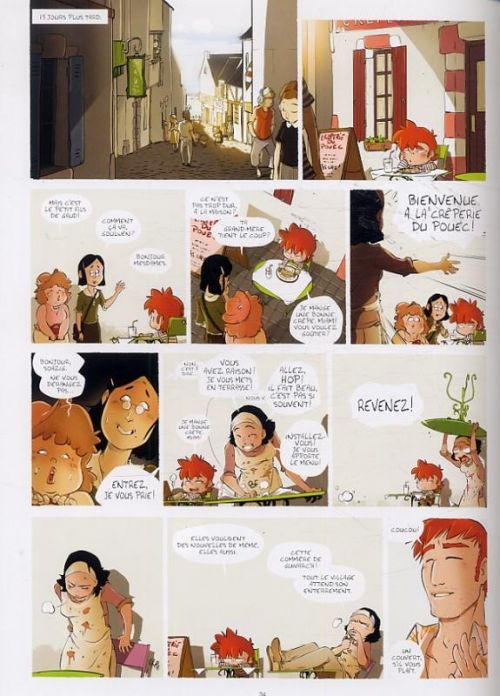 Biguden T1 : L'ankou (0), bd chez Emmanuel Proust Editions de Silas