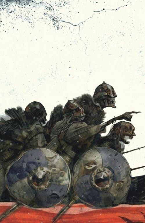 Northlanders T2 : Le livre islandais (0), comics chez Urban Comics de Wood, Becky Cloonan, Azaceta, Shalvey, Staples, Zezelj, Gianfelice, McCaig, Carnevale