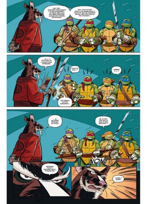 Teenage Mutant Ninja Turtles T1 : Les nouvelles aventures (0), comics chez Soleil de Burnham, Byerly, Brizuela, Breckel, Pattison