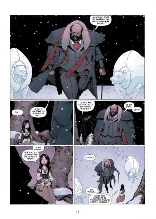 Porcelaine T1 : Gamine (0), comics chez Delcourt de Read, Wildgoose, Rosa, May