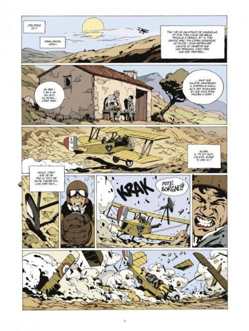 L'or et le sang T4 : Khalil (0), bd chez Glénat de Nury, Defrance, Merwan, Bedouel, Bonini, Bohl