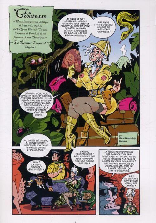 Jungle fever, bd chez Dynamite de Douglo