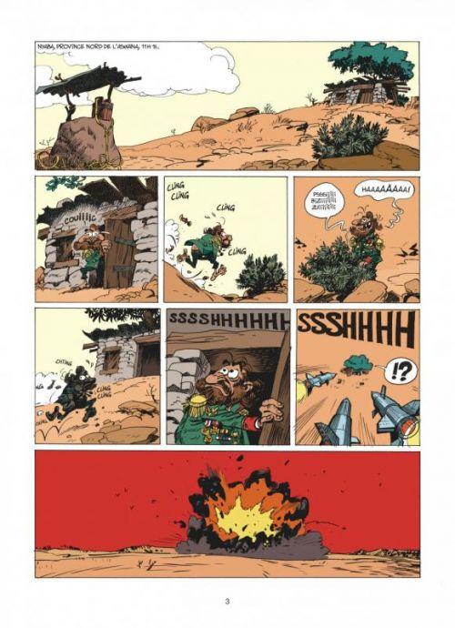 Spirou et Fantasio T54 : Le groom de Sniper Alley (0), bd chez Dupuis de Vehlmann, Yoann, Croix