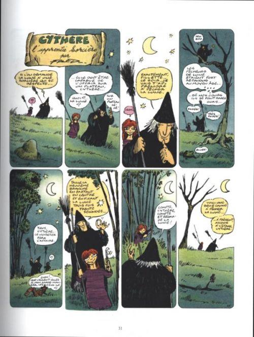 Cythère l'apprentie sorcière, bd chez Dargaud de Fred, Cochet