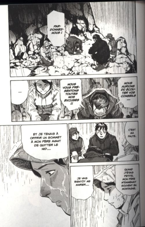 Vertical T6, manga chez Glénat de Ishizuka