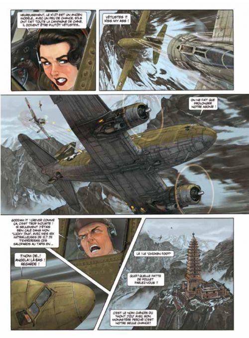 Angel Wings – cycle 1 : Burma, T1 : Burma banshees (0), bd chez Paquet de Yann, Hugault