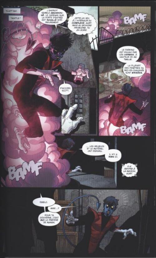 X-Men - No more humans, comics chez Panini Comics de Carey, Larroca, Guru efx, Cox, Milla, Ponsor