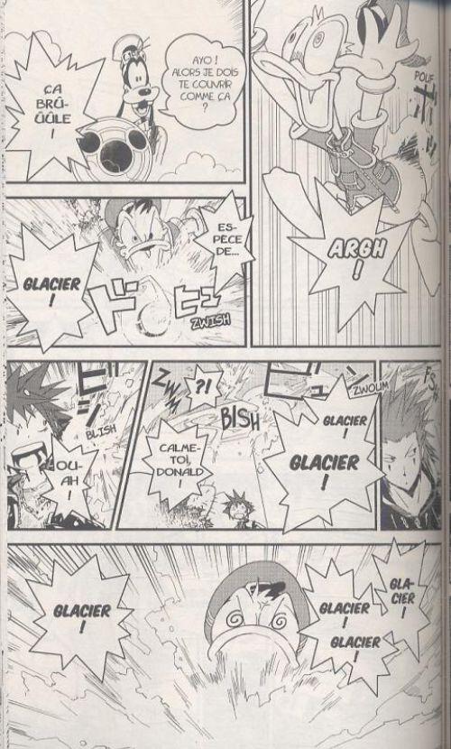 Kingdom hearts - chain of memories  T1, manga chez Pika de Nomura, Shiro
