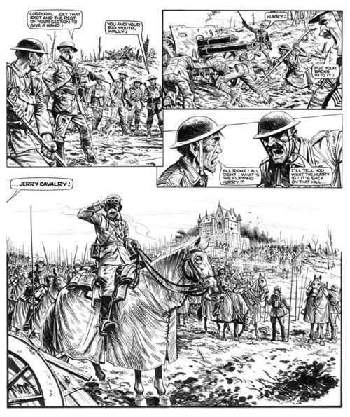 La grande guerre de Charlie : Portfolio (0), comics chez Délirium de Colquhoun