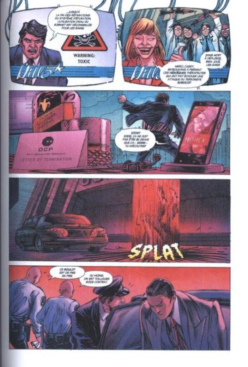 Robocop : Mort ou Vif T1, comics chez Wetta de Grant, Miller, Öztekin, Shalvey, Bellaire, Garland