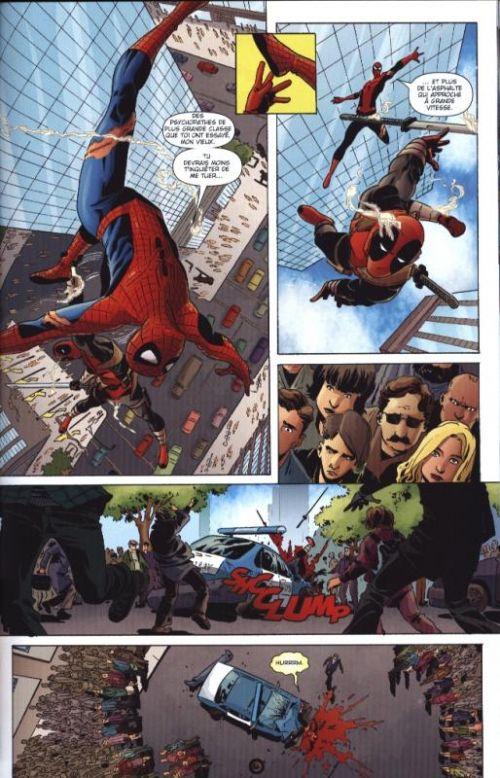 Deadpool T1 : Deadpool massacre Marvel (0), comics chez Panini Comics de Bunn, Moore, Talajic, Quiñones, Rodriguez, Loughridge, Andrews