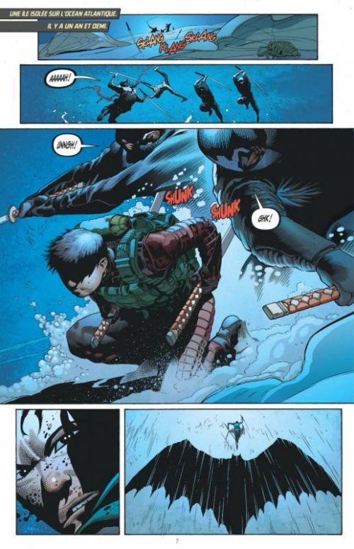 Batman et Robin T2 : La guerre des Robin (0), comics chez Urban Comics de Tomasi, Giorello, Garbett, Gleason, Clarke, Kalisz, Passalaqua, Hi-fi colour