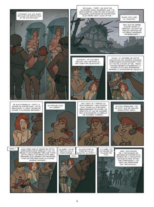Piège sur Zarkass T3 : Gaïa, go home ! (0), bd chez Ankama de Yann, Cassegrain