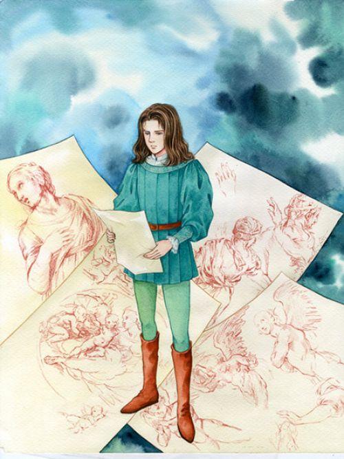 La vie de Raffaello SANTI dit Raphaël, manga chez Black Box de Satonaka