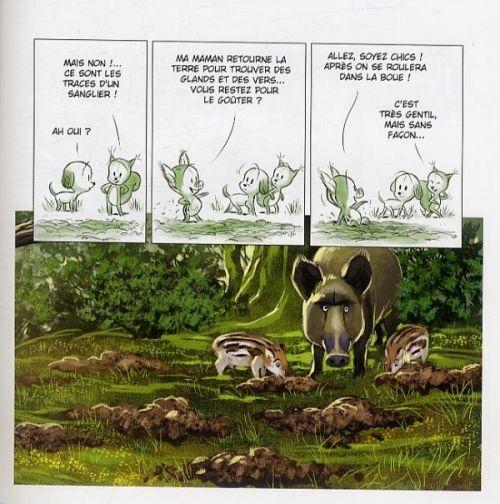 Les Petites histoires T1 : ...de la forêt (0), bd chez Clair de Lune de Brrémaud, Bertolucci