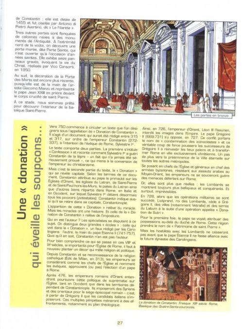 Les Voyages de Jhen T14 : Le vatican (0), bd chez Casterman de Sallustio, Martin
