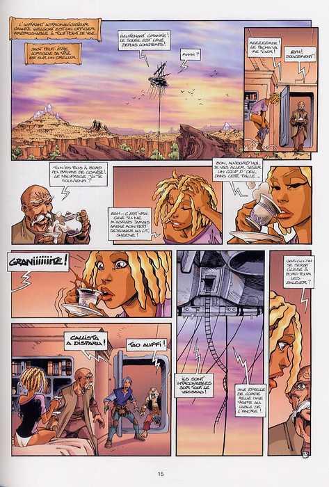 Les naufragés d'Ythaq T3 : Le soupir des étoiles (0), bd chez Soleil de Arleston, Floch, Crazytoons