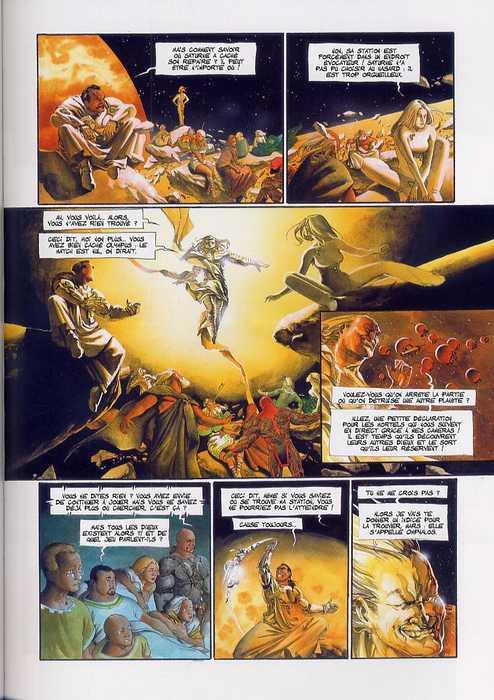 Le fléau des dieux T6 : Exit (0), bd chez Soleil de Mangin, Gajic
