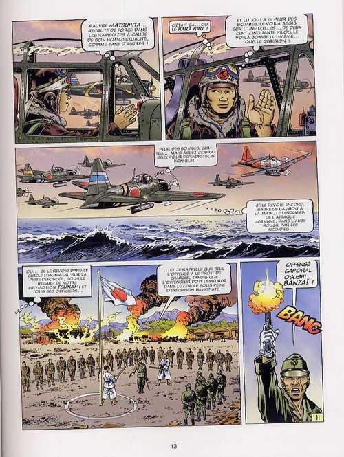 Le dernier kamikaze T1 : Objectif Okinawa (0), bd chez Soleil de Mitton, Molinari