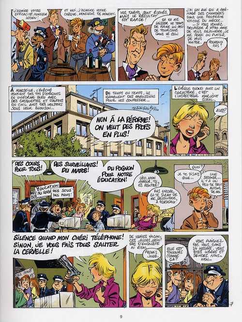 Léo Loden T16 : Froide vendange (0), bd chez Soleil de Arleston, Nicoloff, Carrère, Cerise