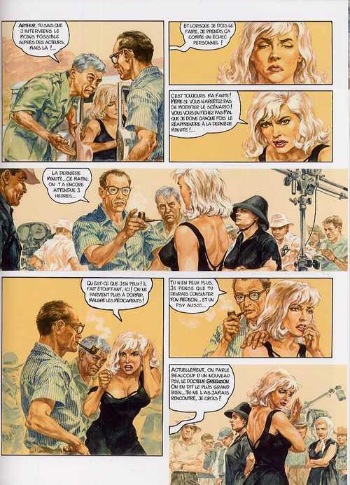 Rebelles T3 : Shooting star - Marilyn Monroe (0), bd chez Casterman de Charles, Charles, Kas