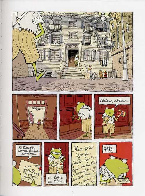 Georges Frog T1 : Premier couplet (0), bd chez Carabas de Phicil
