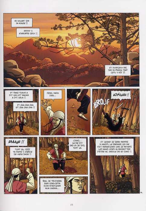 Le sabre et l'épée T2 : Au coeur des rivières et des lacs (0), bd chez Delcourt de Chauvel, Boivin, Araldi