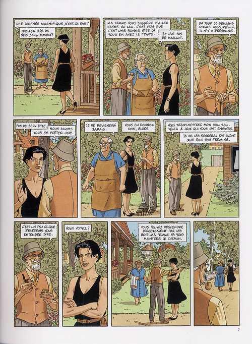 Le long voyage de Léna, bd chez Dargaud de Christin, Juillard