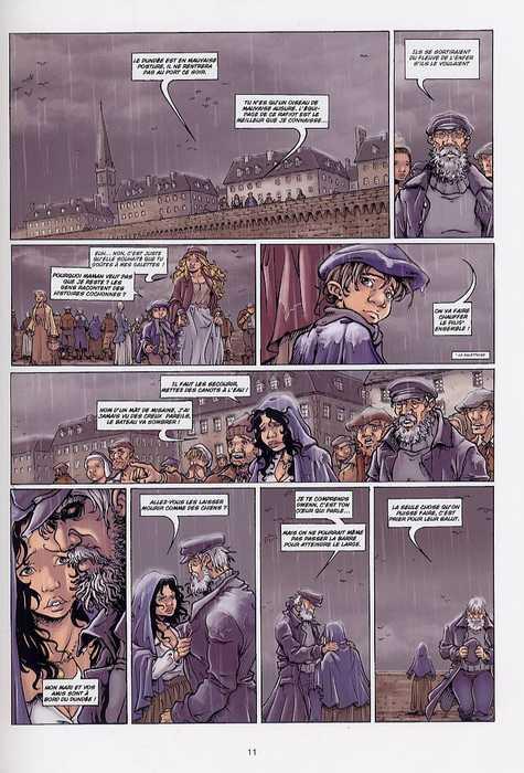 Les larmes de fées T1 : La mélopée des abers (0), bd chez Soleil de Debois, Mika, Vincent