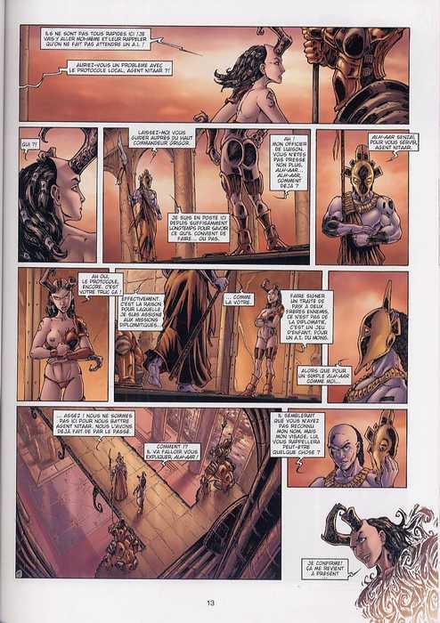 42 agents intergalactiques T1 : Nitaar (0), bd chez Soleil de Louis, Lamirand
