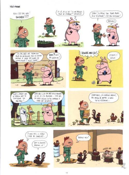 La Ferme ! T2 : L'humour est dans le pré (0), bd chez Kramiek de Sti