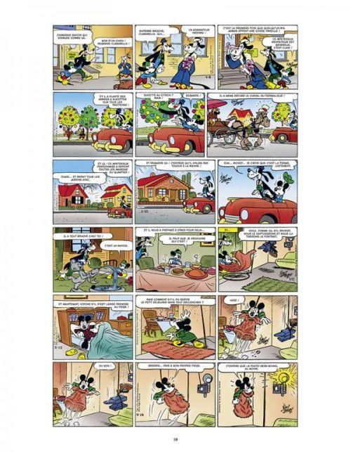 L'Age d'or de Mickey Mouse T11 : 1954-1955 (0), comics chez Glénat de Gottfredson