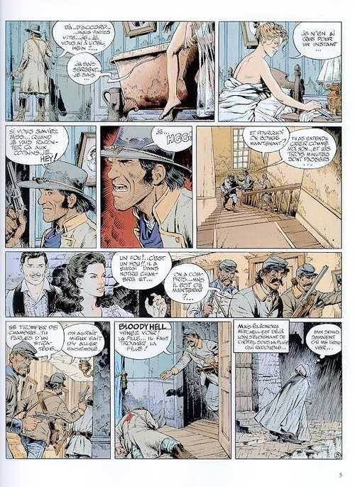 La jeunesse de Blueberry T11 : La piste des maudits (0), bd chez Hachette de Corteggiani, Blanc-Dumont, Blanc-Dumont