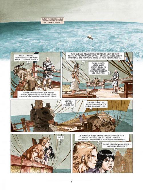 Les Derniers argonautes T2 : La Mer du destin (0), bd chez Glénat de Djian, Legrand, Ryser