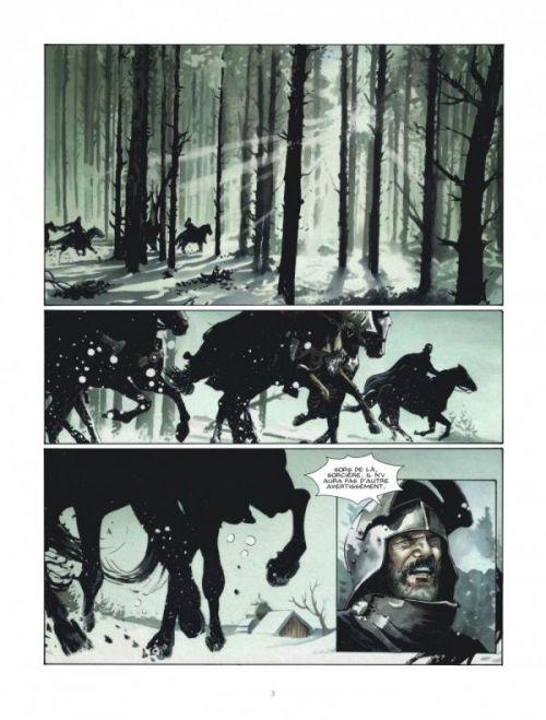 H.Ell T2 : La nuit, royaume des assassins (0), bd chez Le Lombard de Desberg, Vrancken, Mikl